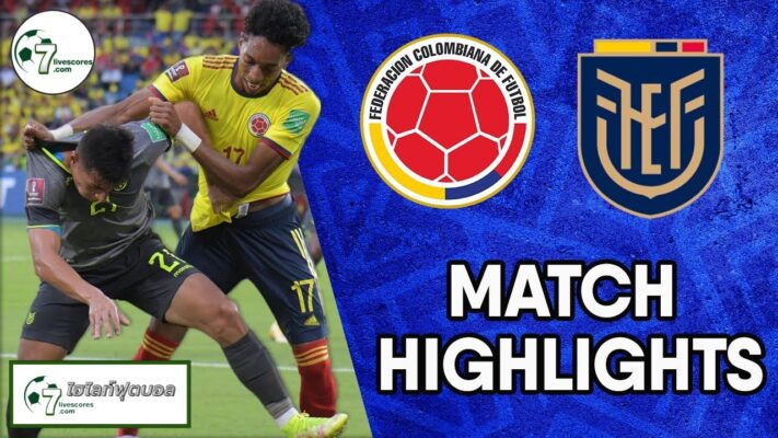 Highlights World Cup South America Zone Colombia - Ecuador 14-10-2021 (2)